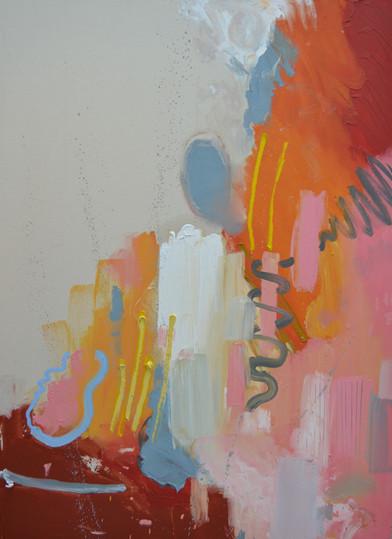 110 x 80 cm Oil on canvas 2018