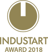 Logo INDUSTART AWARD 2018 - gold color.p
