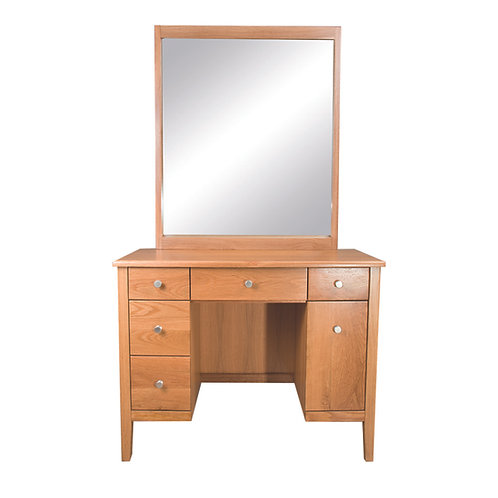 100橡木化妝台含鏡