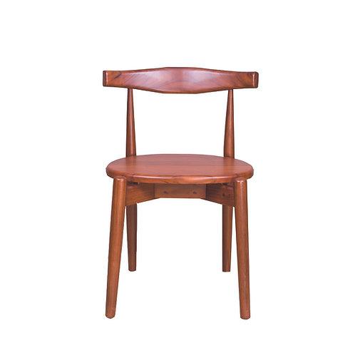 916彎背造型椅