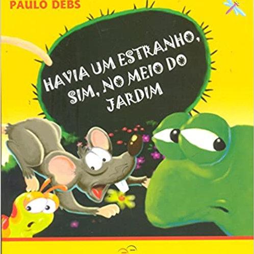 Havia Um Estranho, Sim, no Meio do Jardim   - autor :  Paulo Debs