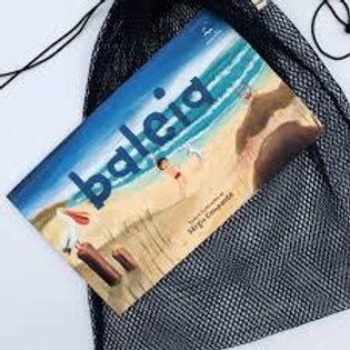 Kit - livro Baleia e saquinho Fui uma rede de pesca