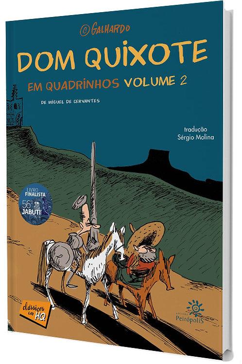 Dom Quixote em Quadrinhos - Volume 2