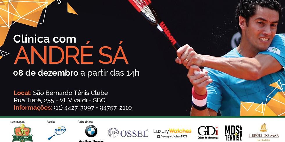 Clínica de Tênis com André Sá