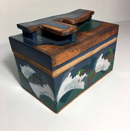 Tennessee Box with Lid and Slab Handle
