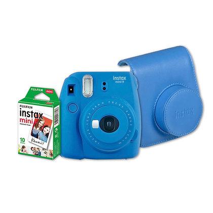 Kit Instax Mini 9 + Estuche + Films X10
