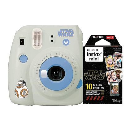 Cámara Mini 9 Star Wars + Papel
