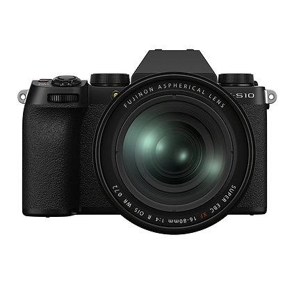 Kit X-S10 +XF16-80mm f/4 R OIS WR + Batería NPW126s