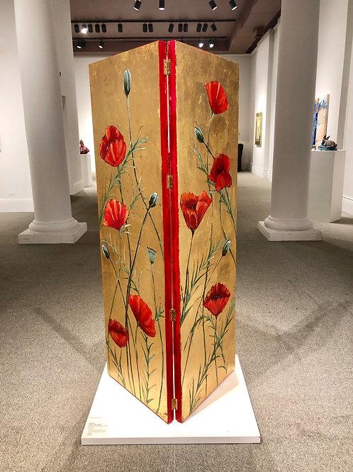 Poppy Floor Art