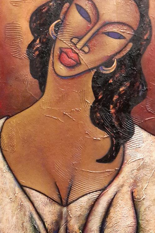 Danielle Acrylic Painting