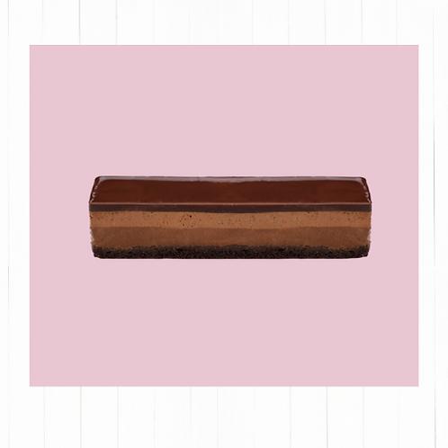 Lingote crujiente de chocolate