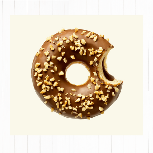 Donut Nutella Crocante grandes - 2 unidades