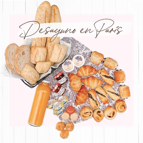 """Caja de regalo - """"Desayuno en París"""""""