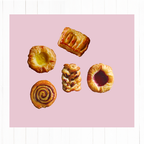 Mix Danish Pastry - 10 unidades