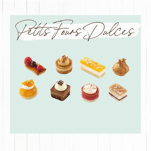Petit Fours Dulces selección 16 unidades