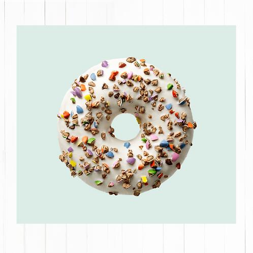 Donut m&m's crocante grandes - 2 unidades