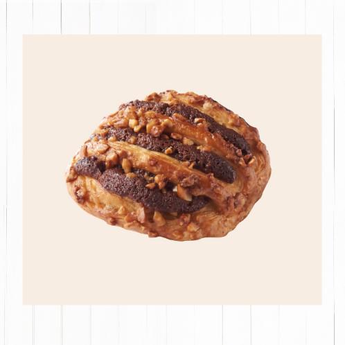 Mini rejilla Nutella y avellanas - Pack 6 unidades