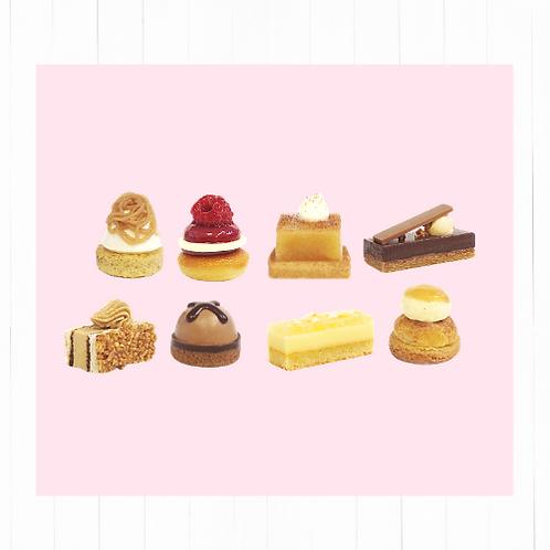 Selección mini postres gourmet - 16 unidades