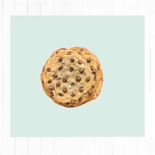 Cookies artesanales Chips chocolate de leche - 6 unidades