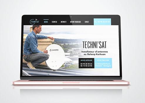 Site web Techni'Sat Manuel Veillon