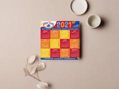 Carte calendrier Cléa'com