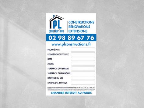 Panneau - PL Constructions