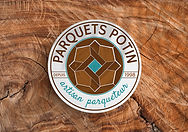 Logo Parquets Potin artisan parqueteur