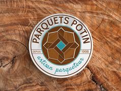 Logo - Parquets Potin
