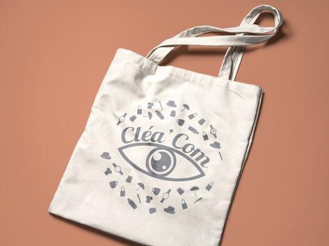 Tote bag - Cléa'com