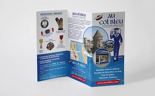 Flyer Au Col Bleu