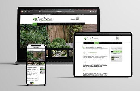 Site web Jacq Paysages