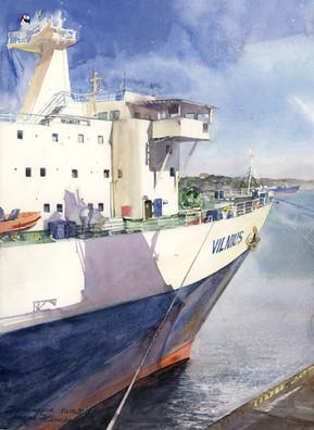 Port w Czarnomorsku, Ukraina