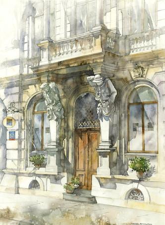 "Apartment house ""Cracovians and Highlanders"", Mokotowska street 57, Warsaw"