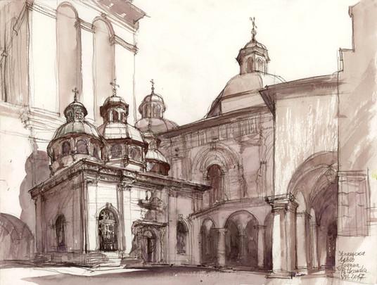 Cerkiew Uspieńska, Lwów