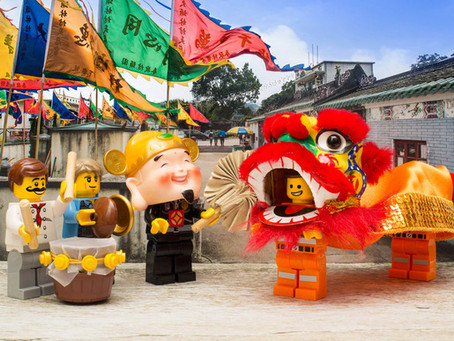 Löwentanz - ein Stück Kultur traditioneller chinesischer Kampfkunst