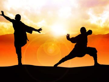 Innerer friede mit Kung-Fu & Tai-Chi