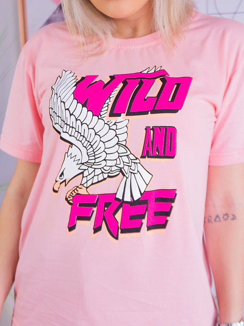 T-Shirt Wild and Free