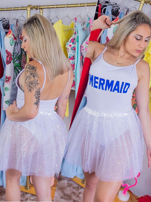 Saia Tutu White Carnaval