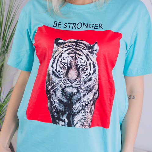 T-Shirt The Tiger White