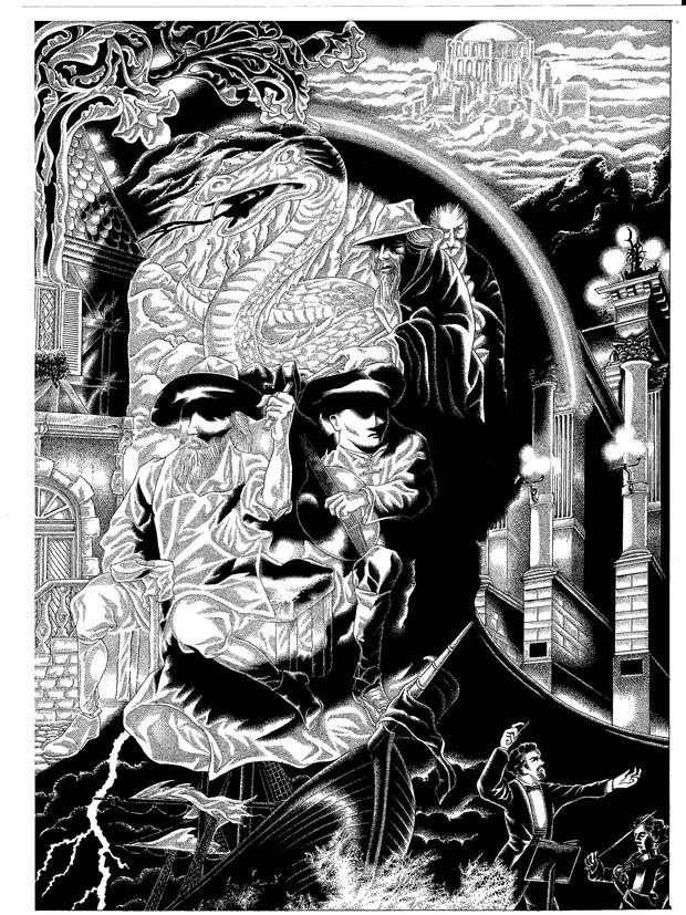 Portrait composite de Richard Wagner