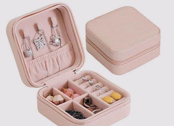 Vegan Leather Jewelry Box