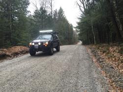 NH dirt roads