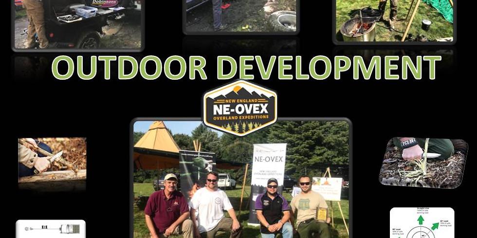 Outdoor Development 101 - July 2020