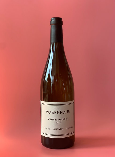 Weissburgunder, 2018  WASENHAUS