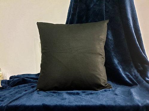 Деко възглавница - черна