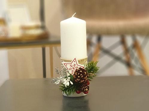 """Коледна свещ """"Christmas magic"""""""