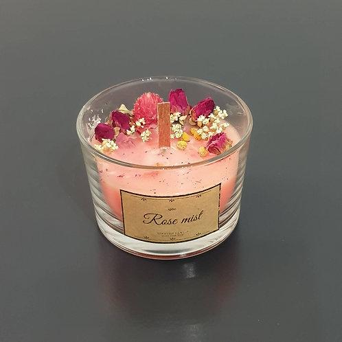 """Ароматна свещ """"Rose mist"""" I"""