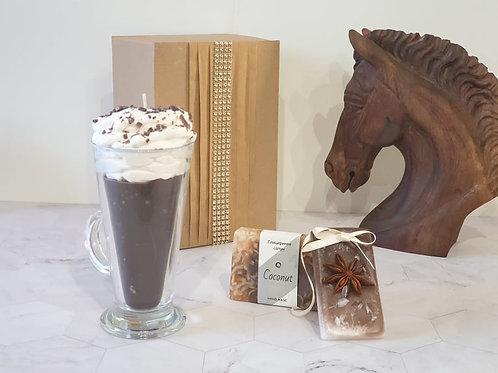 """Подаръчна кутия """"Hot chocolate"""""""