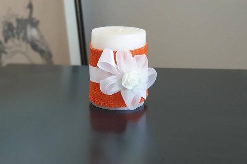 """Ароматна свещ """"Бяло цвете"""""""