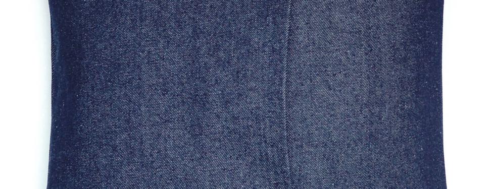 Vista Posterior del Cojín de 45 cm X 45 cm.